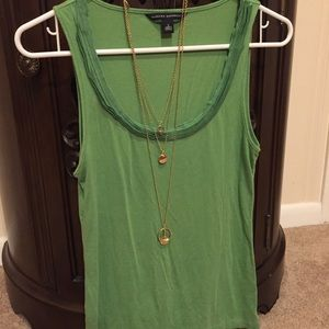 Banana Republic Green Tank Top